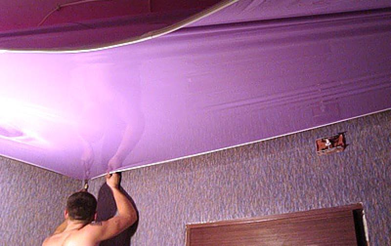 Как хорошо сделать потолки натяжные