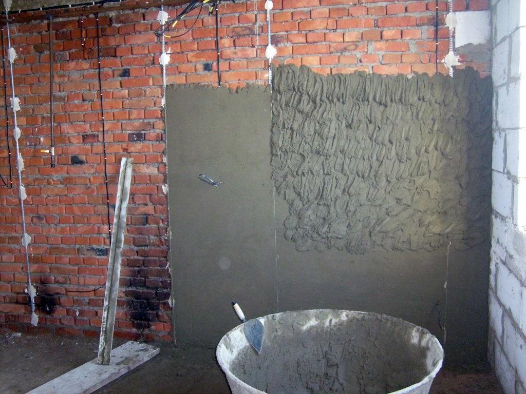 Раствор для штукатурки стен