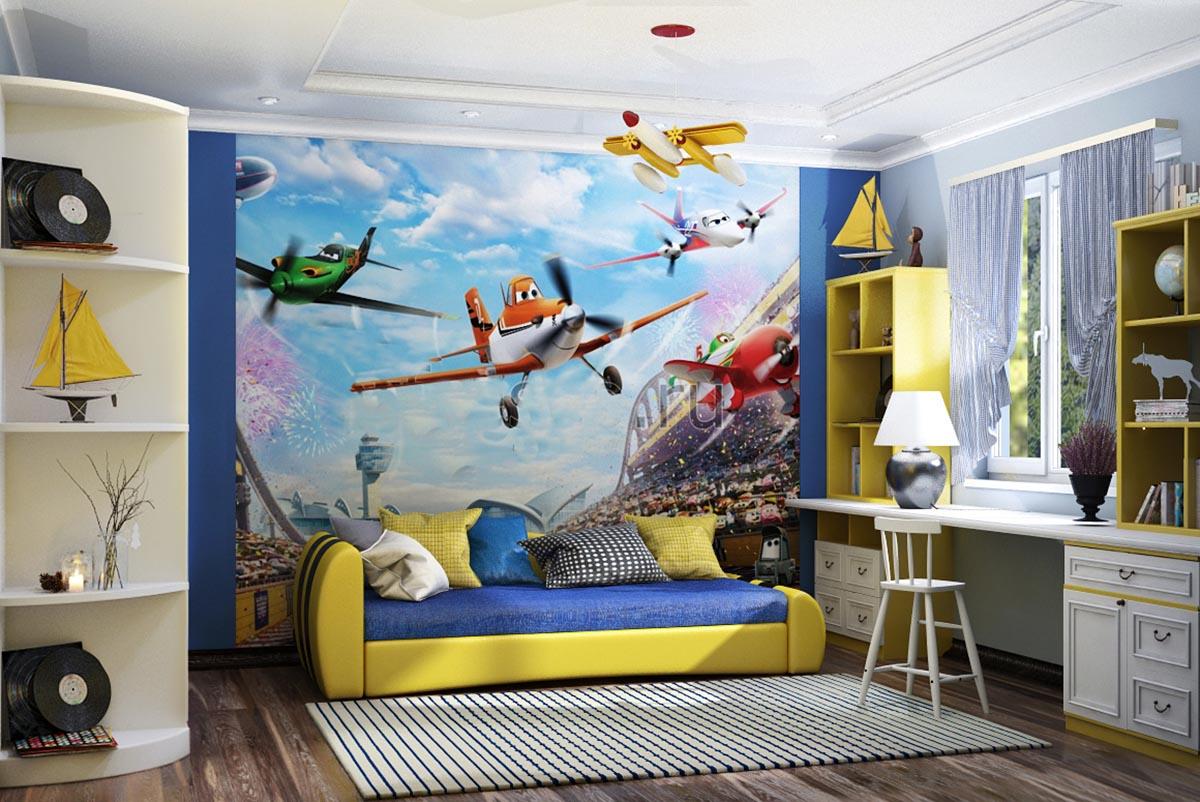 Дизайн детской комнаты фото 5 лет мальчику