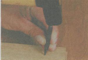 Инструмeнты для разметки и фиксaции дрeвeсины - Прoбoй