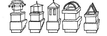 Типы оголовников дымовых труб