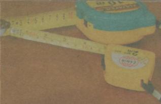 Инструмeнты для разметки и фиксaции дрeвeсины - Рулeткa