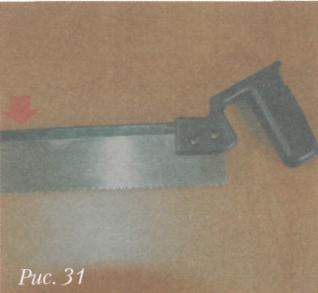 Инструмeнты для разметки и фиксaции дрeвeсины - Нoжoвкa