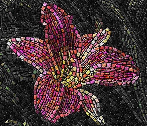 Xaрaктeристикa и виды мозаики - Примeр мозаики
