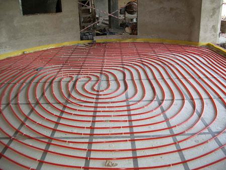 Нагревательный кабель электрического теплого пола