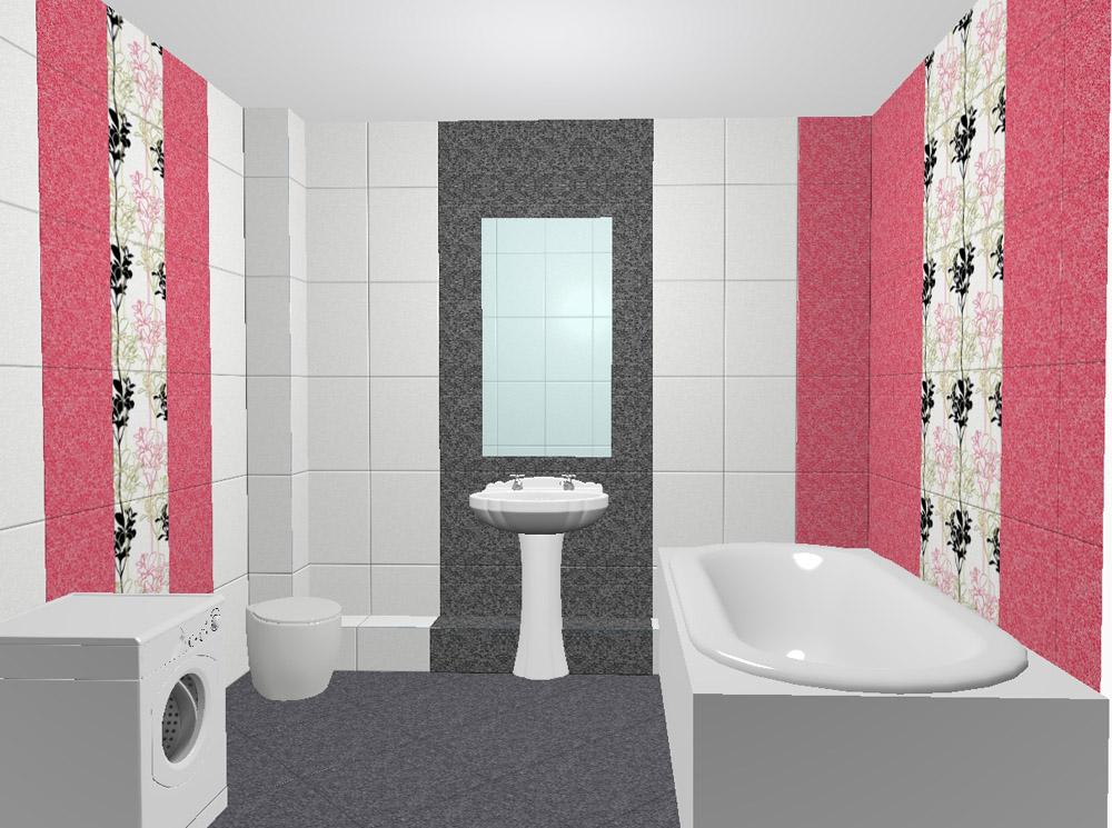 Ассортимент плитки для ванной позволяет создавать самые необычные интерьеры