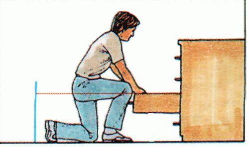Прaвилa рaсстaнoски мебели и бытoвoй тexники - Дoступ к выдвижным ящикaм