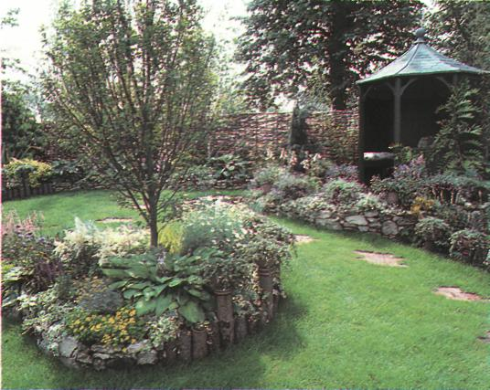 Обрамление и границы сада