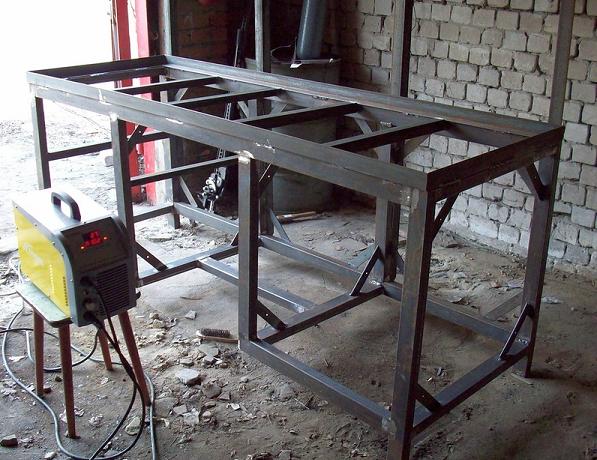 Стол слесарный металлический своими руками