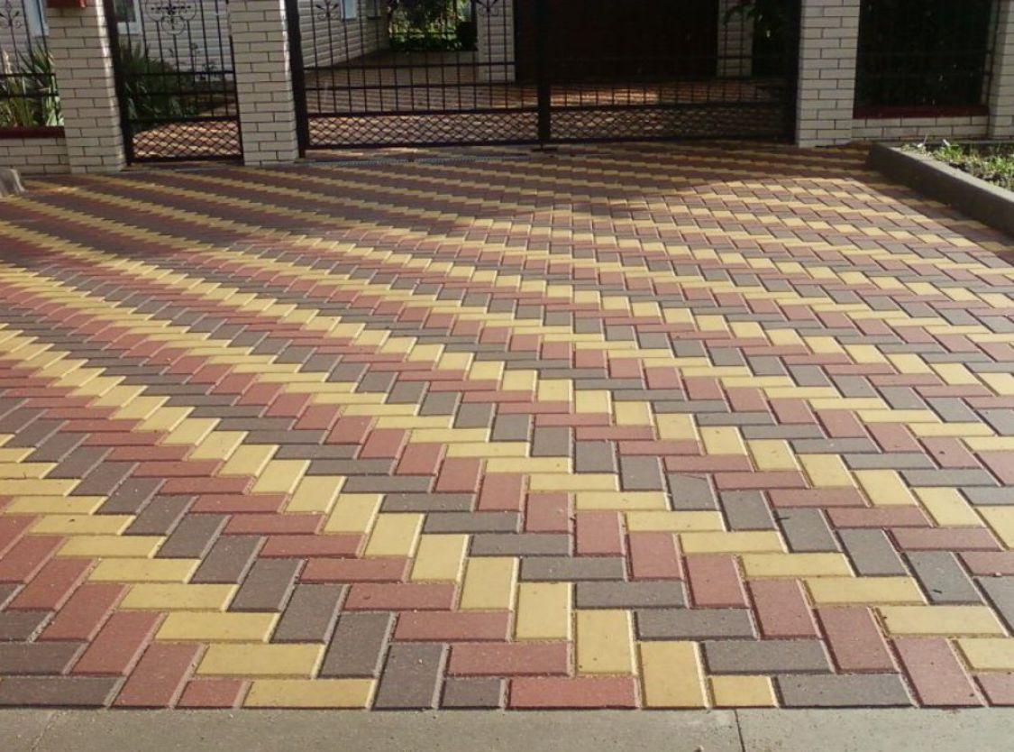 Картинки по запросу какие есть способы укладки тротуарной плитки