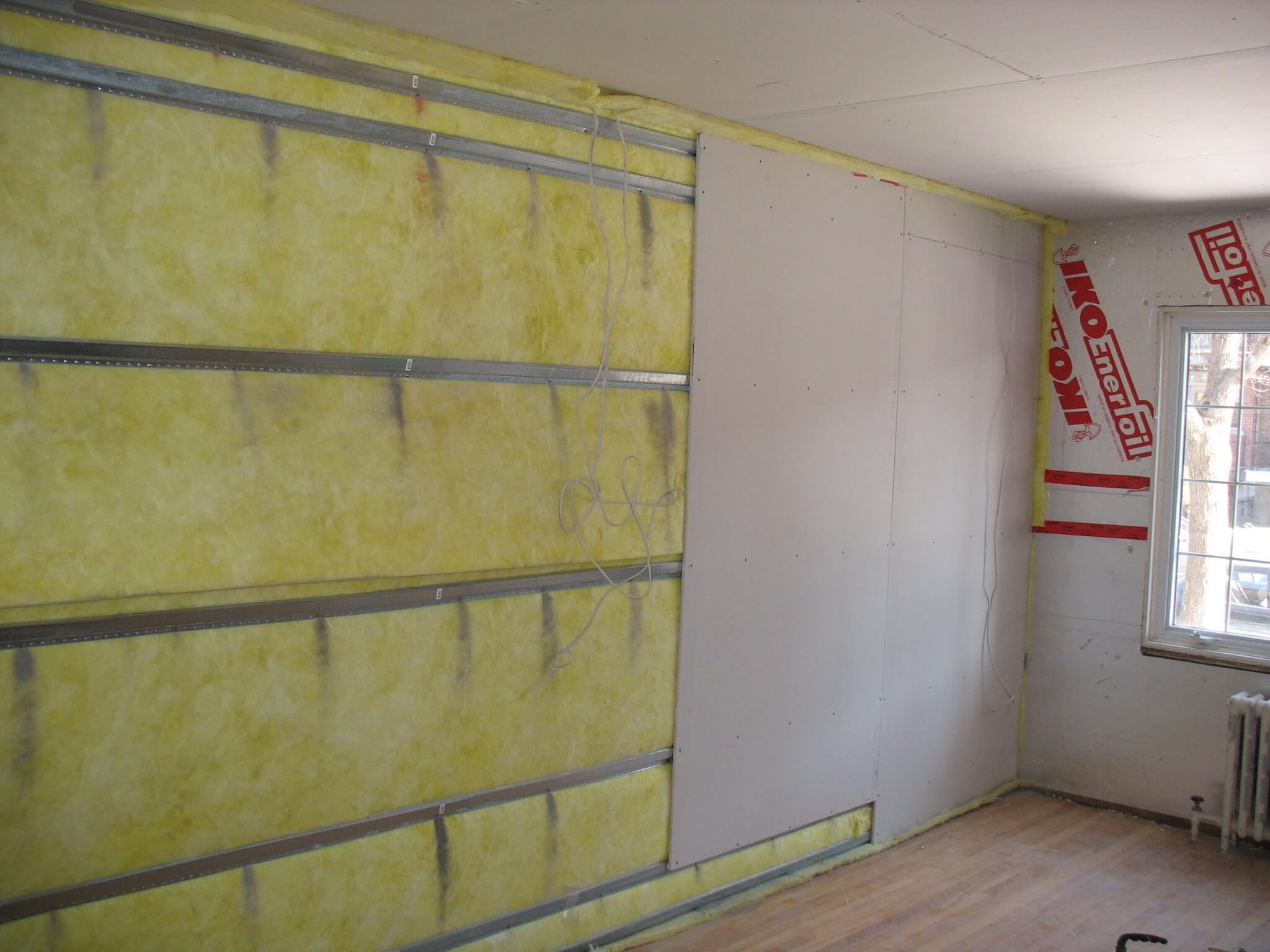 Шумоизоляция стен в квартире от соседей сбоку