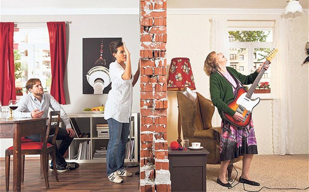 Шумоизоляция стены в квартире от соседей