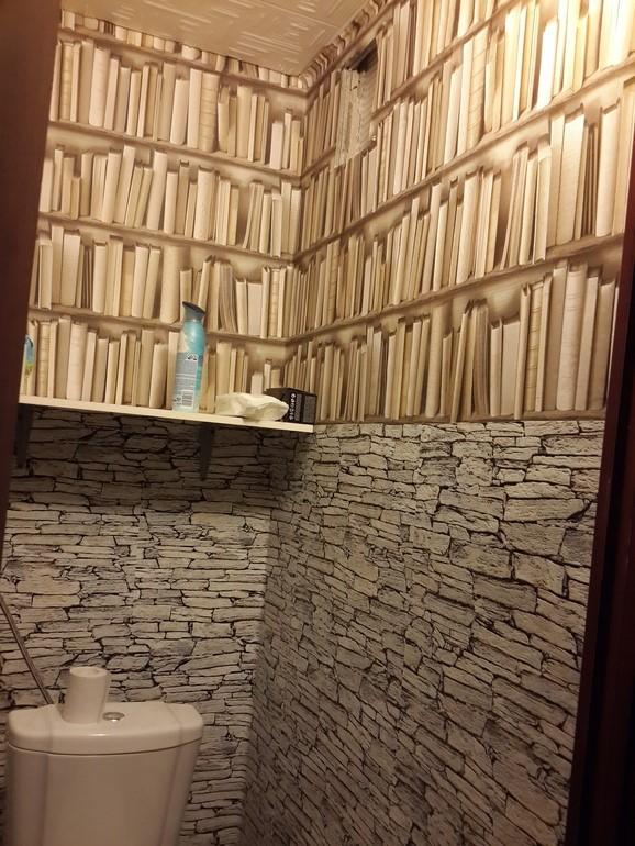 фото обои для туалета