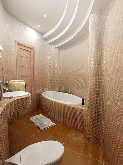 Подвесной потолок для ванной комнаты