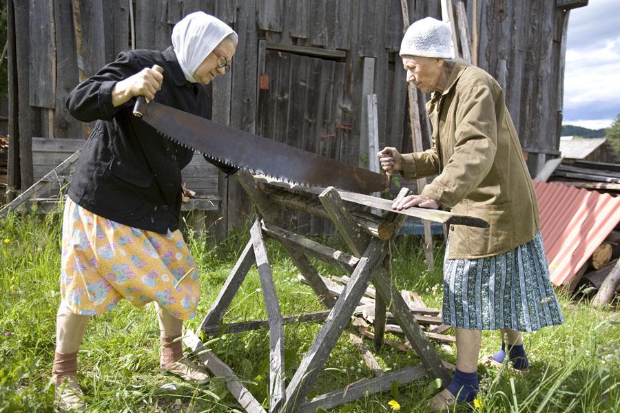 Раздвижные козлы для пилки дров своими руками