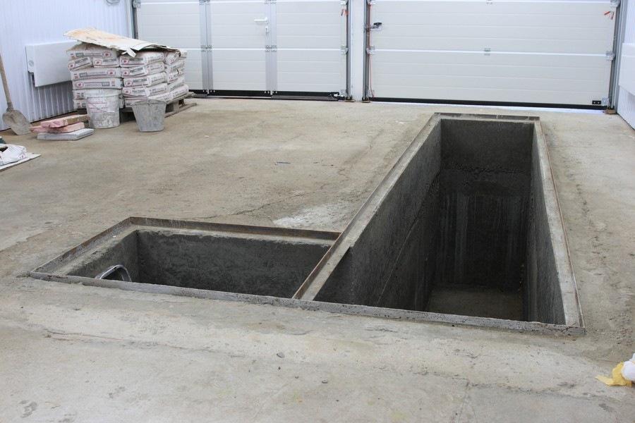 смотровая яма в гараже фото