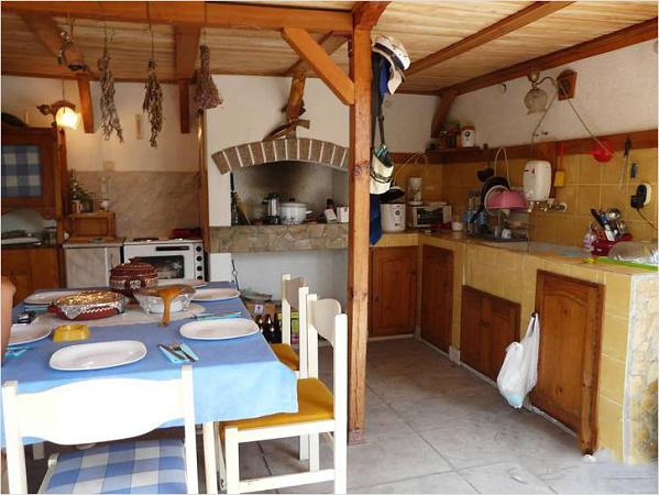 Летняя кухня своими руками очень простая конструкция