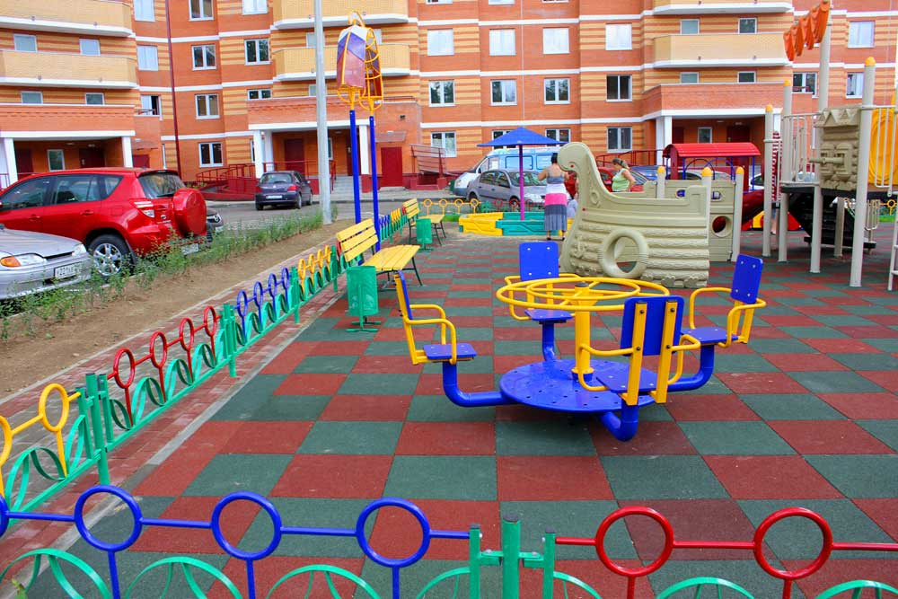 Каким требованиям должны соответствовать спортивные площадки построенные во дворе