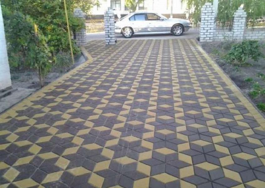 Образцы укладки тротуарной плитки