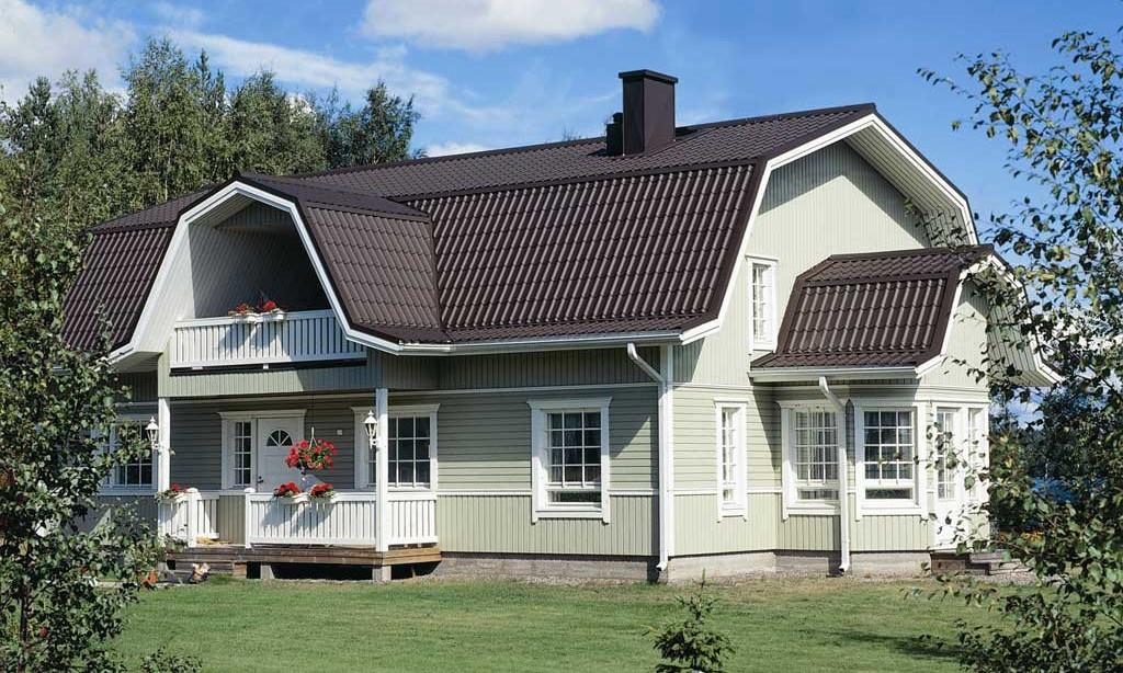 Крыши садовых домиков