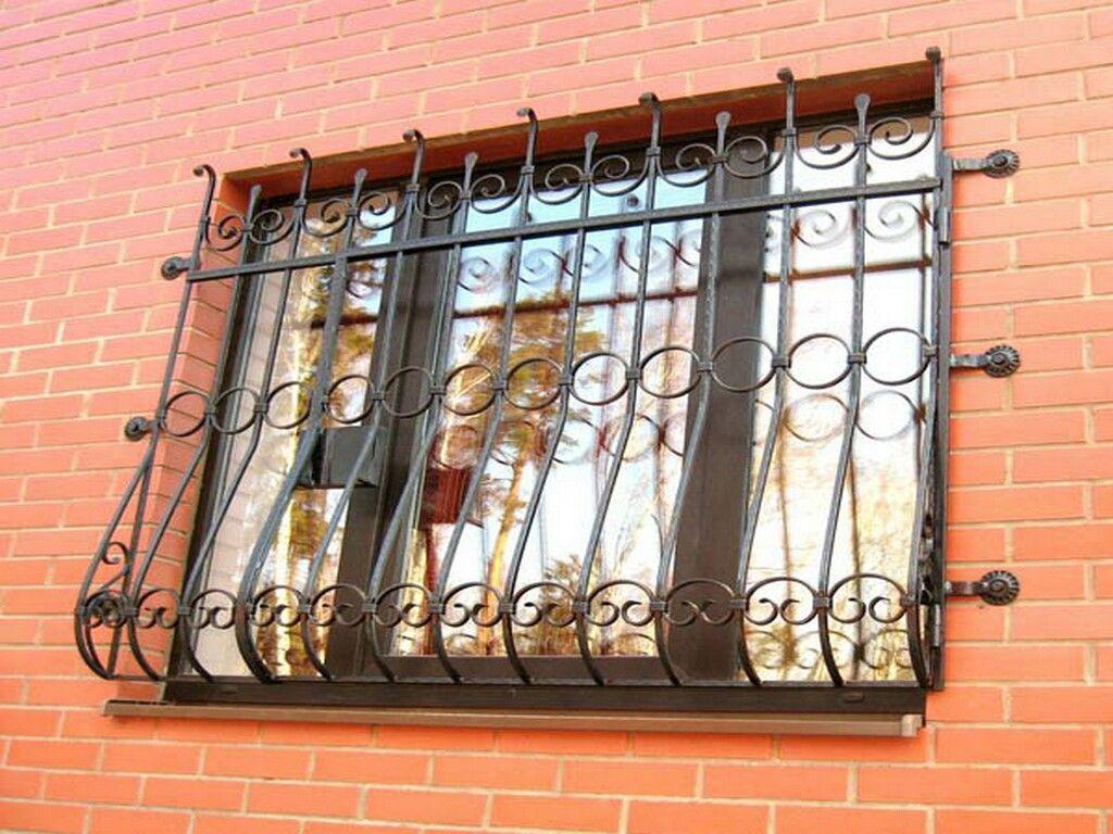 Решетки на окна и двери своими руками