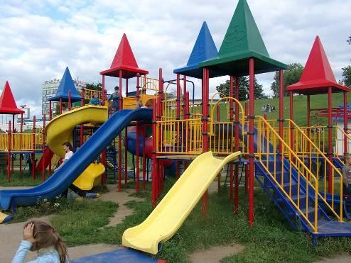 Порядок установки детских площадок