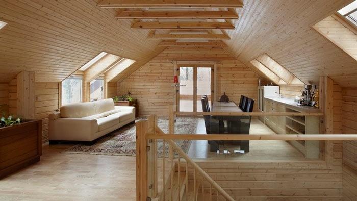 Проекты мансардных крыш частных домов а так же фото и чертежи одноэтажных домов с ломаной крышей