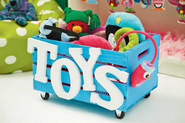 Ящики под игрушки своими руками