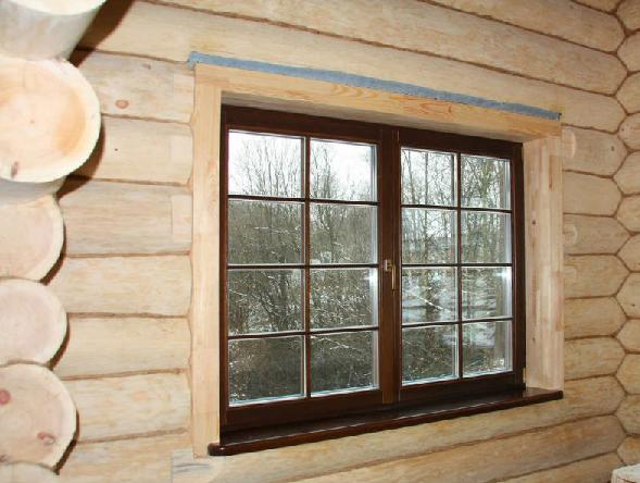 Деревянные окна для бани (размеры, установка, ошибки)