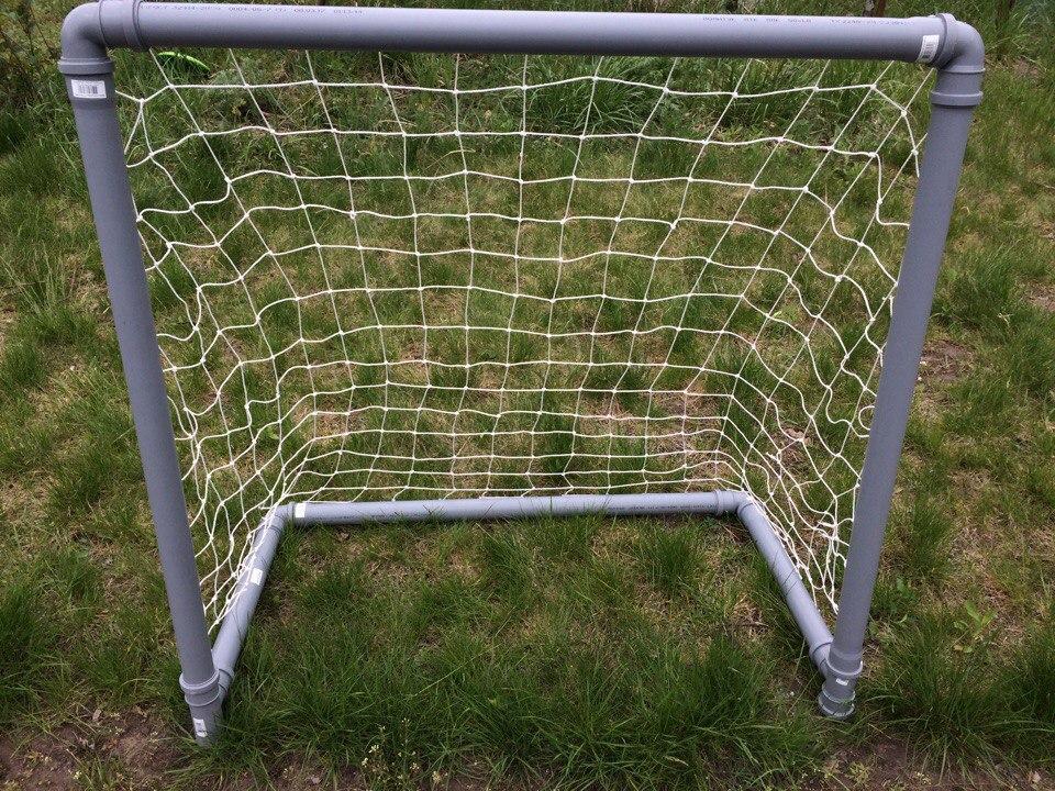 Из чего можно сделать сетку для футбольных ворот своими руками фото 258