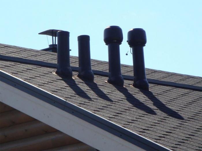 Как сделать вытяжную трубу на крыше