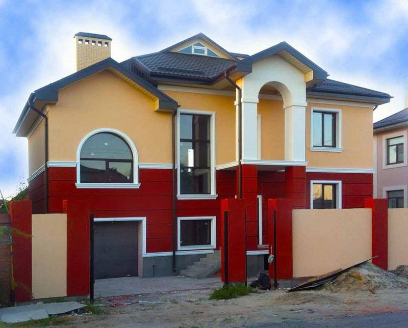 здорова оранжевые дома оштукатуренные фото женские