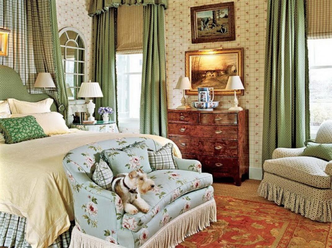 Спальня в английском стиле 37 фото дизайн интерьера