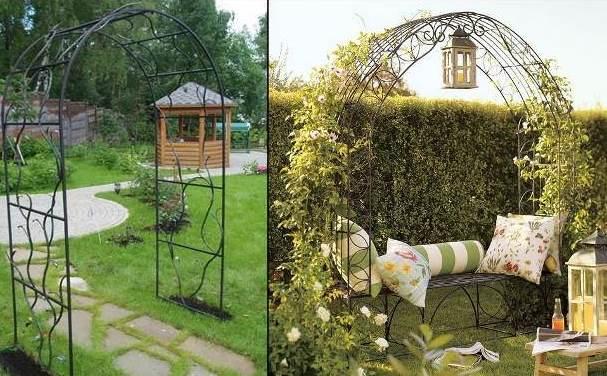 Арки садовые