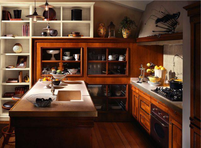 Кухня в итальянском стиле + фото