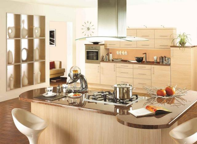 Кухня в эко стиле + фото