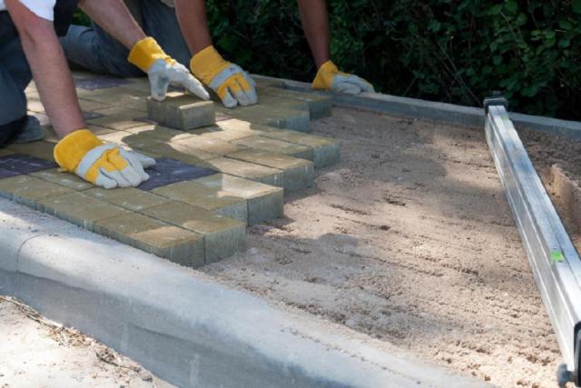 Плиты бетонные тротуарные