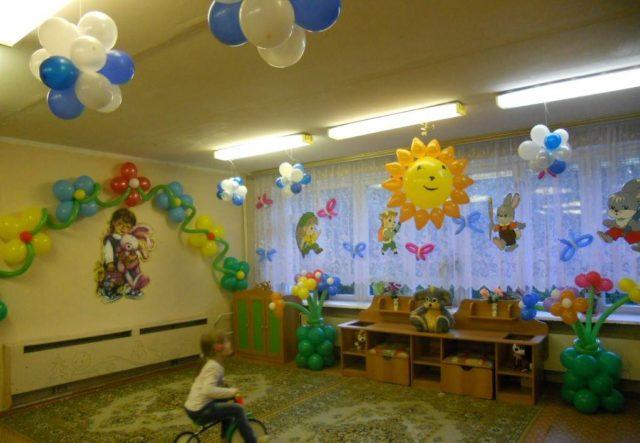 Оформление детского сада своими руками