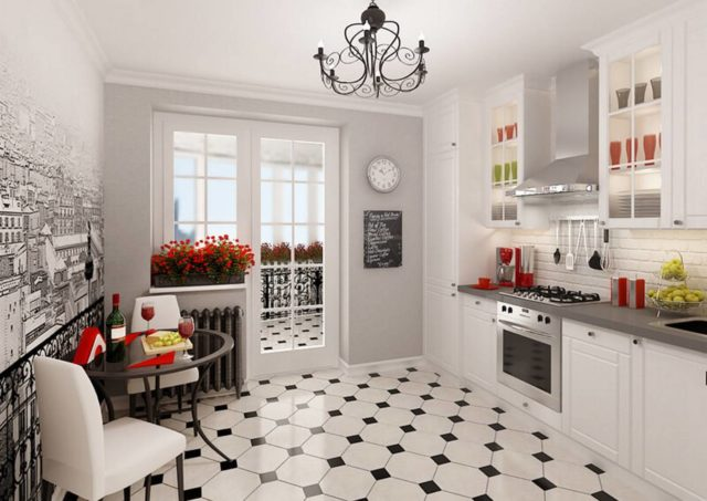 Кухня во французском стиле + фото