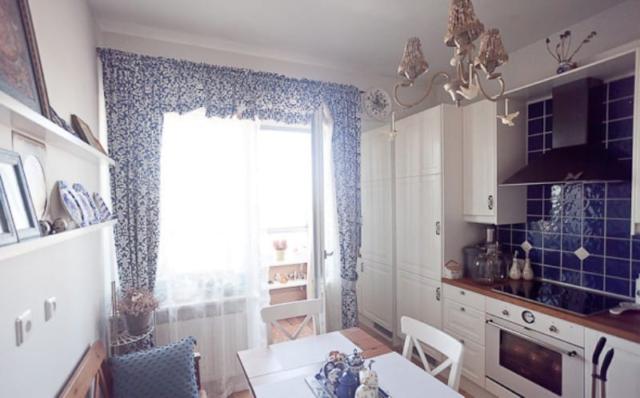 Кухня в русском стиле + фото