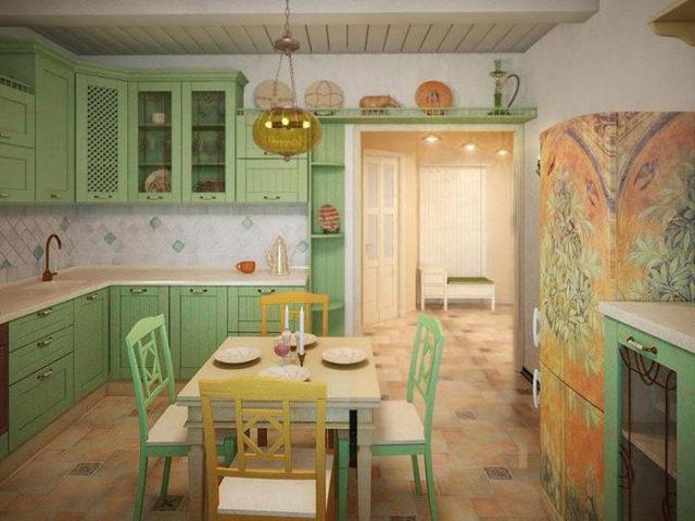 Кухня в средиземноморском стиле + фото