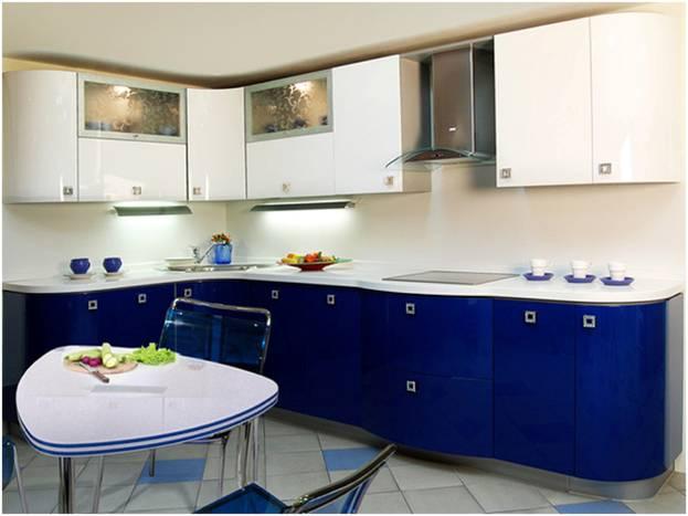 Цвета кухонных гарнитуров