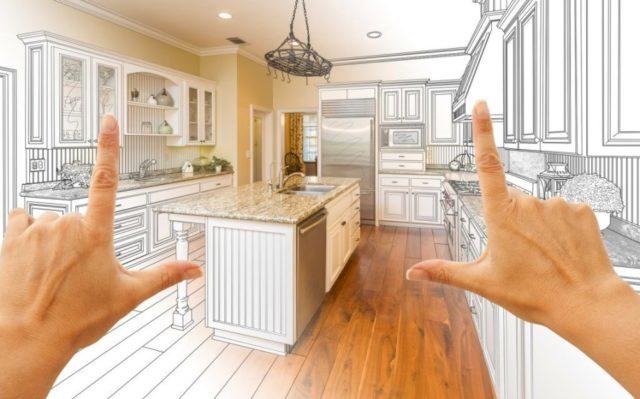 Как сделать своими руками кухонный гарнитур