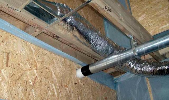 Вентиляция в частном доме для кухни