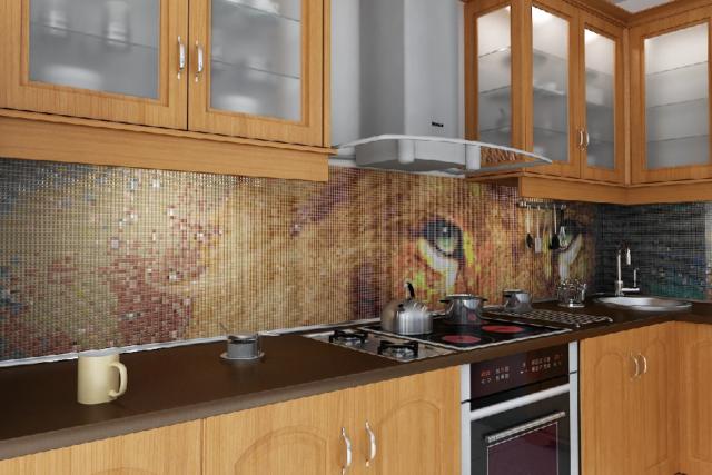 Панно из плитки на кухню