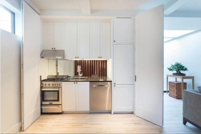 Маленькая кухня – студия