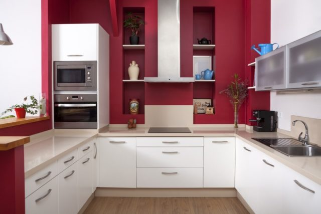 Кухня - гостиная: дизайн-проект 18 кв м и 19 кв м