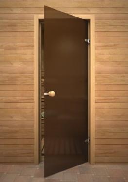 Дверь в парилку: установка своими руками