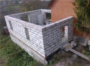 Баня, пристроенная к дому