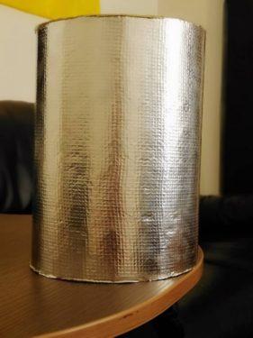 Фольгированный утеплитель для бани